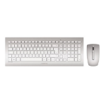 CHERRY DW 8000 keyboard RF Wireless QWERTZ German Silver,White