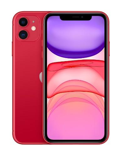 """Apple iPhone 11 15.5 cm (6.1"""") 128 GB Dual SIM Red"""