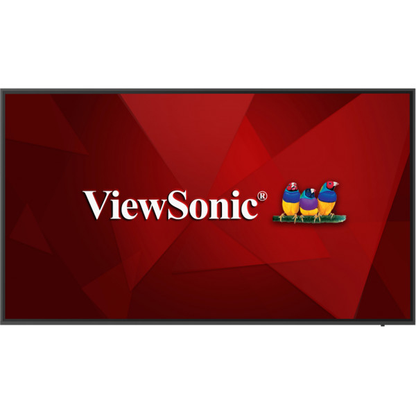 "Viewsonic CDE6520 signage display 165.1 cm (65"") LCD Black Built-in processor"