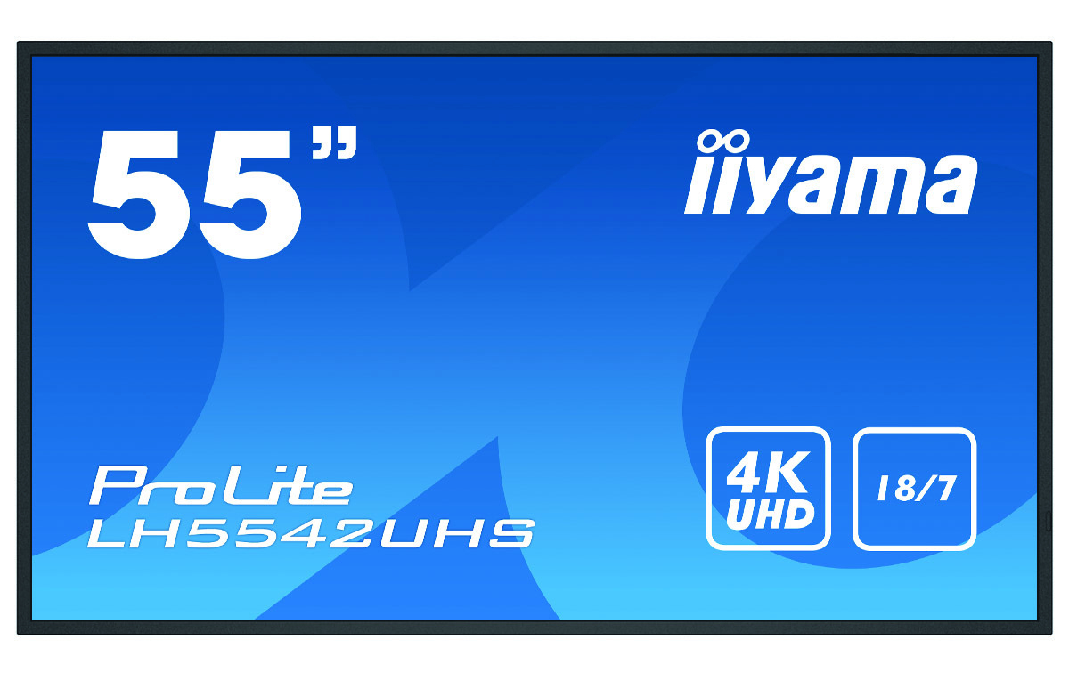 iiyama LH5542UHS-B1 signage display 138.7 cm (54.6