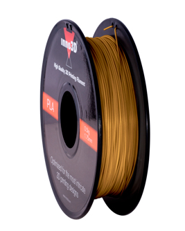 Abs Filament 1.75mm 200mm spool Gold