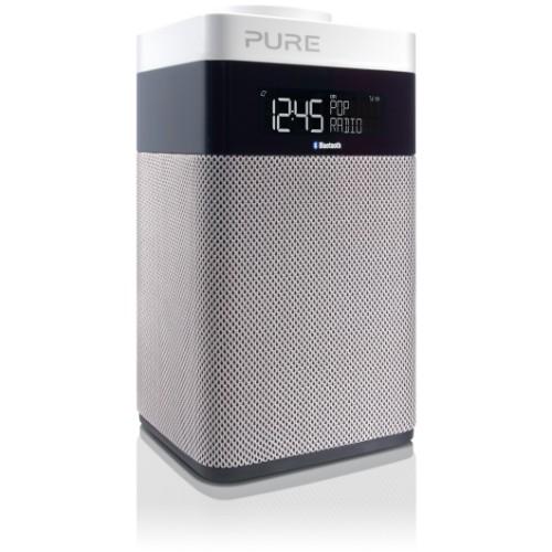 Pure Pop Midi with Bluetooth Portable Digital Black,Silver,White radio