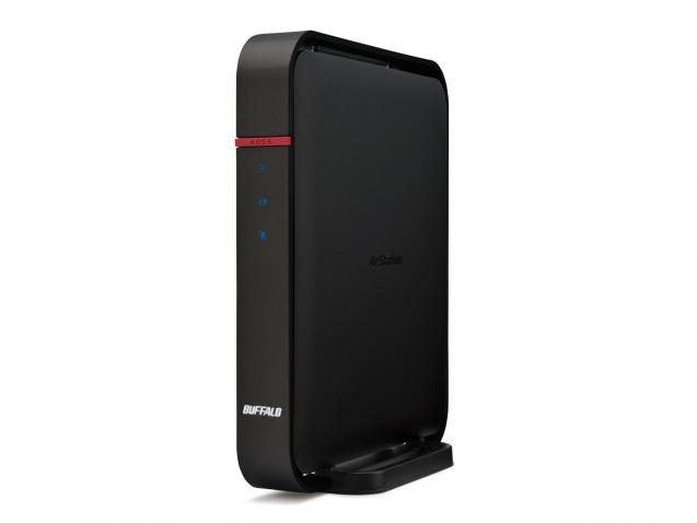 Buffalo WZR-1166DHP Dual-band (2.4 GHz / 5 GHz) Gigabit Ethernet Black wireless router