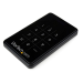 StarTech.com 2.5in Encrypted Hard Drive Enclosure - Portable External HDD Enclosure SATA to USB 3.0 USB powered
