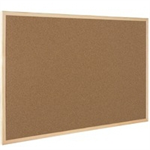 Q-CONNECT CORK BOARD WOODEN FRAME 40X60CM