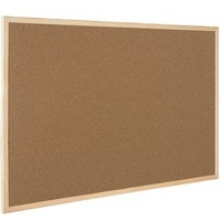 Q-Connect Light 400x600mm Cork Board
