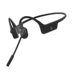 Aftershokz OpenComm Headset Ear-hook, Neck-band USB Type-C Bluetooth Black