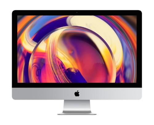 "Apple iMac 68.6 cm (27"") 5120 x 2880 pixels 8th gen Intel® Core™ i5 8 GB DDR4-SDRAM 1000 GB Fusion Drive Silver All-in-One PC"