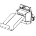 Zebra P1066836 pieza de repuesto de equipo de impresión Cortador Impresora de etiquetas