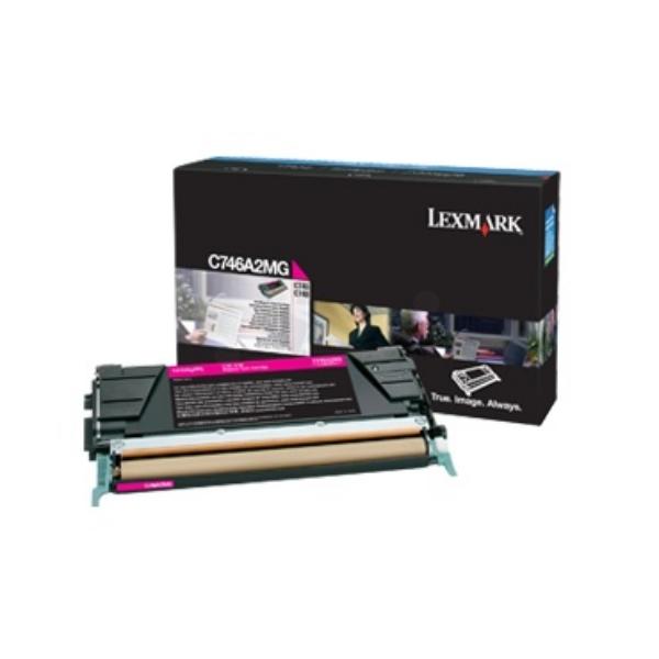 Lexmark C746A3MG Toner magenta, 7K pages