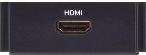 AMX HPX-AV101-HDMI Black outlet box