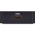 AMX HPX-AV101-HDMI outlet box Black