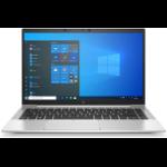 """HP EliteBook 840 G8 DDR4-SDRAM Notebook 35.6 cm (14"""") 1920 x 1080 pixels 11th gen Intel® Core™ i5 8 GB 256 GB SSD Wi-Fi 6 (802.11ax) Windows 10 Pro Silver"""