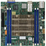 Supermicro MBD-X11SDV-16C-TLN2F-O server/workstation motherboard Mini-ITX System on Chip