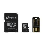 Kingston Technology 8GB Multi Kit memory card MicroSDHC Class 4 Flash