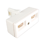 Videk 4151A cable interface/gender adapter White