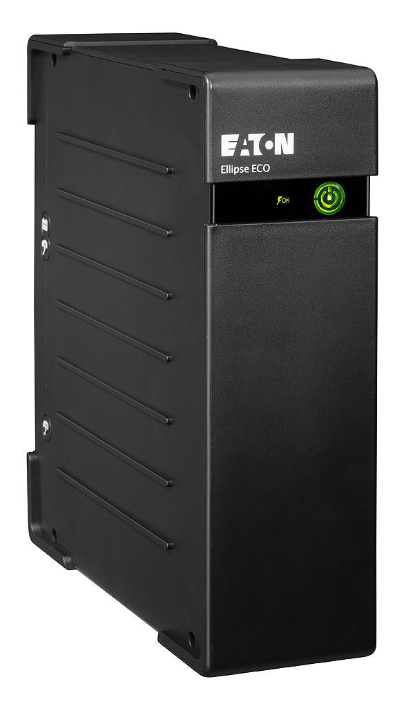 Eaton Ellipse ECO 800 USB DIN sistema de alimentación ininterrumpida (UPS) En espera (Fuera de línea) o Standby (Offline) 800 VA 500 W 4 salidas AC