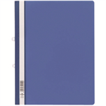 Durable Clear View Folder PVC Blue report cover