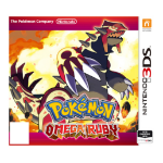 Nintendo Pokémon Omega Ruby Basic Nintendo 3DS English video game