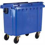 FSMISC 770L BLUE WHEELED BIN 377386