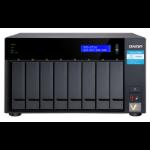 QNAP TVS-872N Ethernet LAN Tower Black NAS