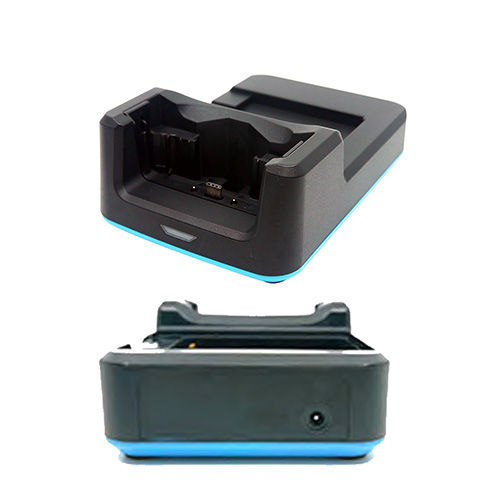 Unitech EA630 1-slot terminal charging only cradle and spare battery charging slot including 5V/3A 1010-9000