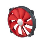 Deepcool 140mm UF140 Red Blade PWM Fan (Max 1200RPM)
