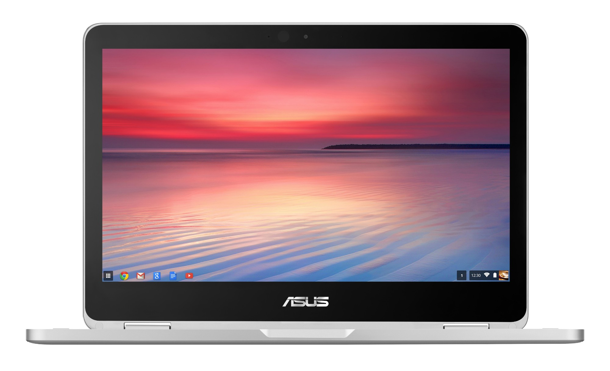 "ASUS Chromebook Flip C302CA-GU003-OSS 0.9GHz m3-6Y30 12.5"" 1920 x 1080pixels Touchscreen Grey Chromebook"