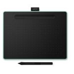 Wacom Intuos M Bluetooth graphic tablet 2540 lpi 216 x 135 mm USB/Bluetooth Black, Green