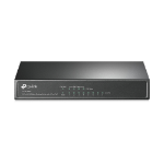 TP-LINK 8-port 10/100 PoE Switch Unmanaged Black Power over Ethernet (PoE)