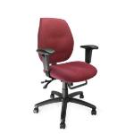 Eliza Tinsley Severn Ergo Medium Back Operator Chair Adjustable Arms RD DD
