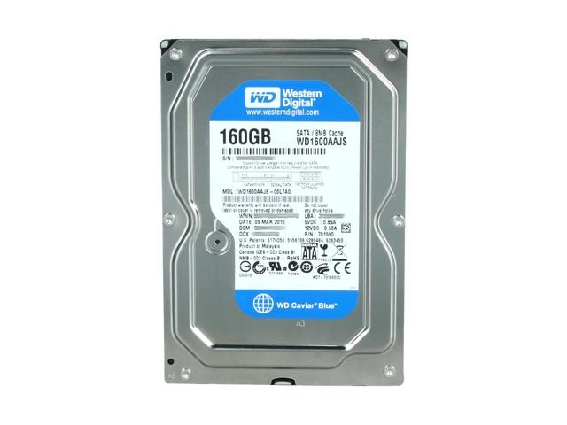 "Western Digital Caviar Blue 160GB 3.5"" Serial ATA II"