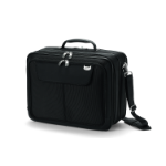 "Dicota UltraCase Twin 15.6"" Briefcase Black"