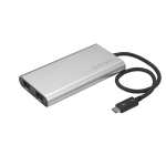 StarTech.com Thunderbolt 3 naar 2x HDMI adapter 4K 60Hz Mac en Windows compatibel