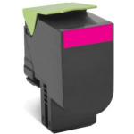 Lexmark 80C2HM0 (802HM) Toner magenta, 3K pages
