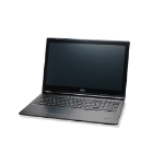 "Fujitsu LIFEBOOK U759 Portátil Negro 39,6 cm (15.6"") 1366 x 768 Pixeles 8ª generación de procesadores Intel® Core™ i5 8 GB DDR4-SDRAM 256 GB SSD Wi-Fi 5 (802.11ac) Windows 10 Pro"