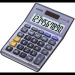 Casio MS-100TERII calculator Desktop Basic Metallic