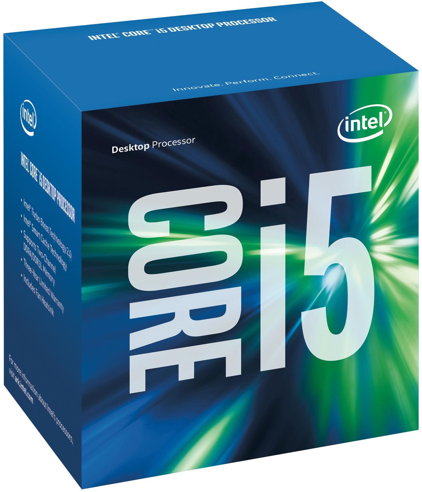 Intel Core i5-7500 processor 3.4 GHz Box 6 MB Smart Cache