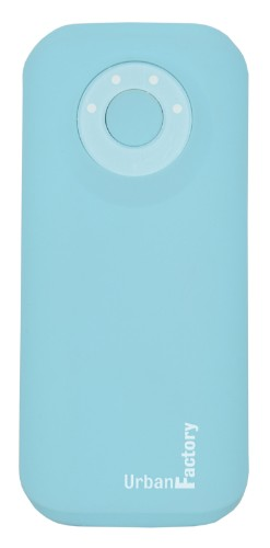 Urban Factory Power Bank Emergency 5200 mAh Blue