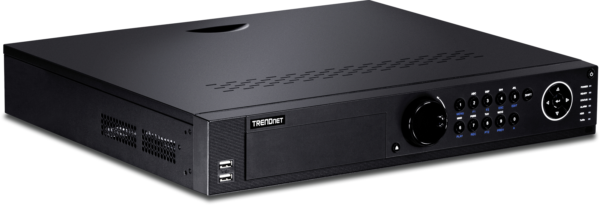 Trendnet TV-NVR2432D4 network video recorder Black
