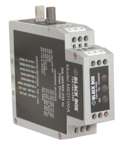 Black Box MED100A serial server RS-232/422/485