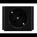 AMX HPX-P200-PC-EU Black outlet box