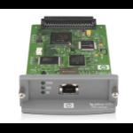 HP Jetdirect 635n print server Internal Ethernet LAN Green, Grey