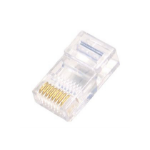 Cables Direct RJ45 - 50 Micron RJ45 Transparent wire connector