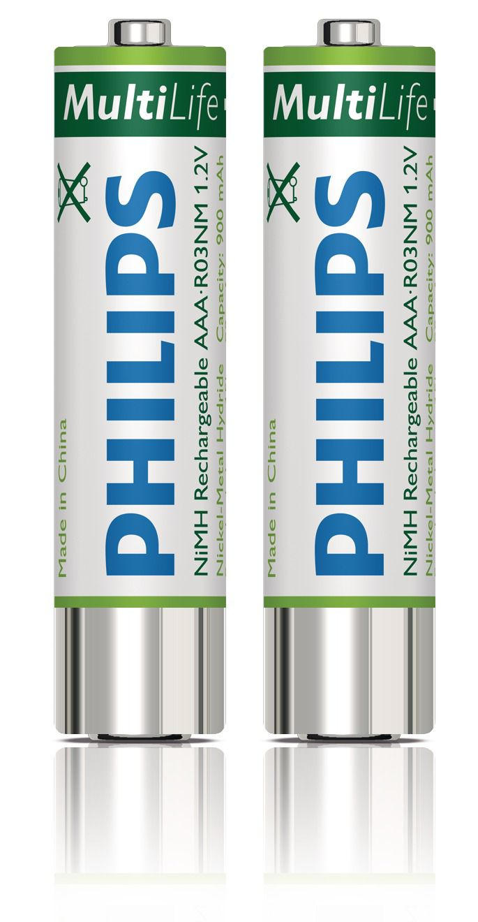Philips Rechargeable batteries