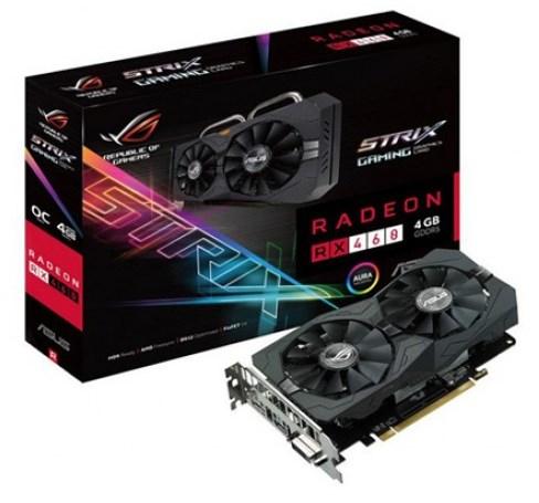 ASUS ROG STRIX-RX460-4G-GAMING AMD Radeon RX 460 4GB