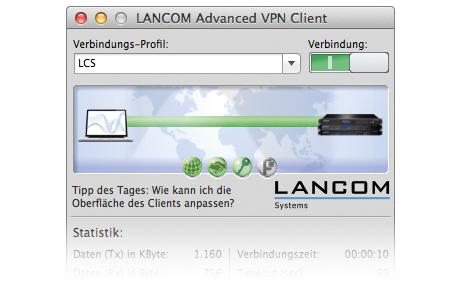 Lancom Systems Advanced VPN Client (Mac OS)