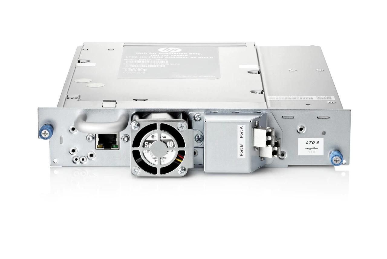 Hewlett Packard Enterprise StoreEver MSL LTO-6 Ultrium 6250 FC tape drive Internal 2500 GB