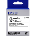Epson C53S653003 (LK-3WBN) Ribbon, 9mm x 9m