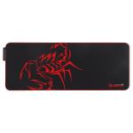Marvo MG010 Gaming mouse pad Black, Red